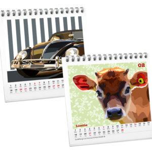 Tierisch Feine Tischkalender